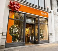 Amazon #HomeOfChristmas: Heute eröffnet weihnachtlicher Pop-up-Store am Berliner Ku'damm