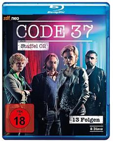 BD + DVD-VÖ: Code 37, Staffel 2 (24.04.15)