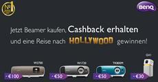 BenQ Presseinformation: BenQ Beamer-Cashback-Aktion inklusive Verlosung einer Hollywood-Reise
