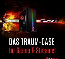 BitFenix Saber: Ein Traum-Gehäuse für Gamer und Streamer