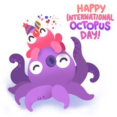 Celebrate International Octopus Day with Takoway!