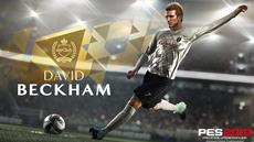 David Beckham unterzeichnet langfristiges, exklusives Abkommen mit KONAMI und wird PES Legende