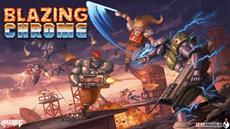 Der Arcade-Style Run-and-Gunner Blazing Chrome soll auf der Xbox One den Untergang der Menschheit abblasen