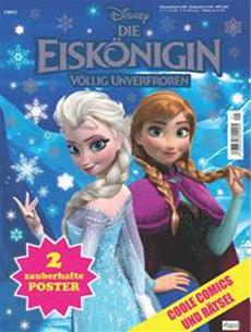 Disney Die Eiskönigin - Völlig unverfroren, das Magazin zum Film ab 26. November am Kiosk