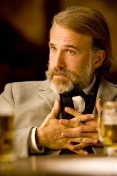Dr. King Schultz (Christoph Waltz) in Sony Pictures DJANGO UNCHAINED.