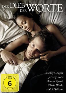DER DIEB DER WORTE (Bradley Cooper, Jeremy Irons etc) auf DVD