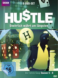 DVD-VÖ | Hustle: Unehrlich währt am längsten - Der letzte Coup (Staffel 5 - 8)