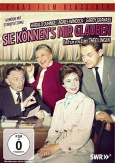 DVD-VÖ | Sie können's mir glauben mit Theo Lingen und Harald Juhnke