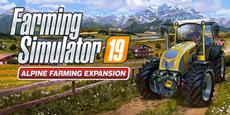 Farming Simulator 19 - Alpine Farming Expansion: a new gameplay trailer to showcase grass harvesting and brand new vehicles!