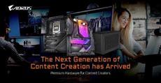 GIGABYTE bietet die beste Hardware für Content Creators - Die nächste Hardware-Generation zum Erstellen kreativer Inhalte ist da