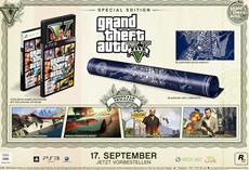 Rockstar Games kündigt Special Edition und Collector's Edition für Grand Theft Auto V an
