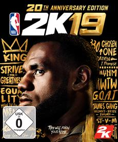 Happy 2K Day! NBA 2K19 20th Anniversary Edition veröffentlicht