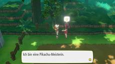 In Pokémon: Let's Go, Pikachu! und Pokémon: Let's Go, Evoli! können Meistertrainer herausgefordert werden