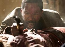 Jamie Foxx (Django) in Sony Pictures DJANGO UNCHAINED.
