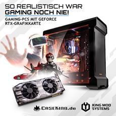 JETZT bei Caseking - Leistungsstarke Gaming-PCs mit NVIDIA GeForce RTX-Grafikkarten