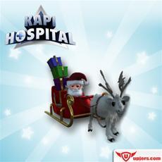 Kapi Hospital im Weihnachtsfieber