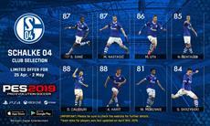 Limitierte Club Selection mit FC Schalke 04 ab sofort im myClub-Modus von PES 2019 verfügbar