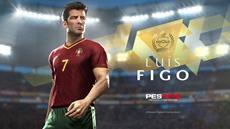 Luís Figo als Legende in PES 2018