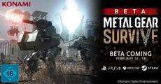 METAL GEAR SURVIVE - Zweite Beta für PlayStation 4, Xbox One und Steam angekündigt