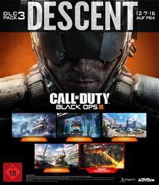 Neue Maps, Drachen und Zombies: Call of Duty: Black Ops III Descent DLC-Pack erscheint am 12. Juli auf PlayStation 4!