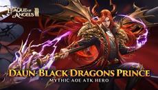 Neuer mythischer Held Daun erscheint in League of Angels III