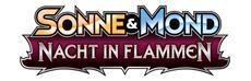 Pokémon-Sammelkartenspiel-Erweiterung Sonne & Mond - Nacht in Flammen erscheint am 4. August