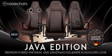 Premium-Gaming-Stühle im neuen Gewand - noblechairs EPIC, ICON & HERO Java Edition jetzt bei Caseking erhältlich!