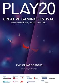 Ready for PLAY - PLAY - Creative Gaming Festival vom 4. bis 8. November 2020