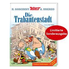 Review (Comic): Asterix Nr. 17: Die Trabantenstadt, limitierte Sonderausgabe