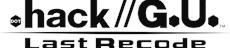 hack//G.U. Last Recode für PlayStation 4 und Steam angekündigt