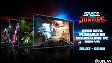 Space Junkies<sup>&trade;</sup> NON-VR Open Beta startet am 25. Juli bei Uplay