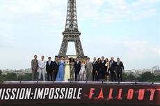 Spektakuläre Weltpremiere in Paris von MISSION: IMPOSSIBLE - FALLOUT (dtsch. Kinostart: 2.8.18)