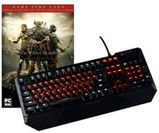 Tesoro Profi-Gamer Tastatur im Bundle mit Elder Scrolls - 60 Tage Online Time Card