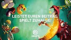 Ubisoft<sup>&reg;</sup> startet eine einmonatige Serie an Angeboten beginnend mit einem Gratis-Download von Rayman Legends