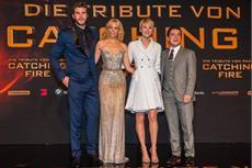Umjubelte Deutschlandpremiere von DIE TRIBUTE VON PANEM - CATCHING FIRE: Jennifer Lawrence und ihre Co-Stars erneut in Berlin!