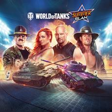 Wargaming kooperiert mit der WWE für World of Tanks: SummerSlam