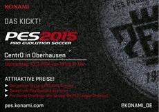 """""""Das kickt!"""" - KONAMI feiert den PES 2015 Start"""