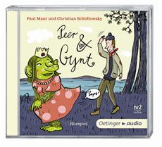 """""""Peer & Gynt"""" von Paul Maar und Christian Schidlowsky auf der hr2-Hörbuchbestenliste September 2013"""