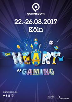 """""""The Heart of Gaming"""": gamescom startet vielfältig, lebendig und bunt ins Jahr 2017"""