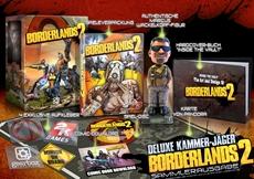 2K Games und Gearbox Software kündigen Borderlands® 2 Deluxe Kammerjäger (Sammlerausgabe) und Ultimative Beutekiste (Limitierte Ausgabe) an