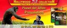 """Ab 1. November """"Planet der Affen: Prevolution"""" und viele weitere Blockbuster in der Hollywood Collection"""