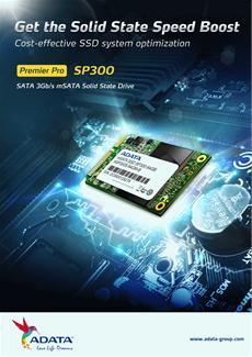 ADATA stellt neue mSATA SSD vor