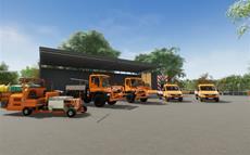 Aerosoft Line-Up zur gamescom 2021: Straßenmeisterei-Simulator