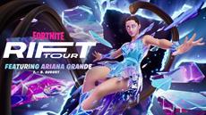 Ariana Grande als Headliner der Rift Tour von Fortnite