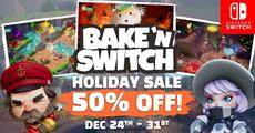 Bake 'n Switch is Back and Half Off on Nintendo Switch in Europe this Holiday!