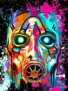 Beautiful Borderlands 3 art giclees available worldwide from art gallery Cook and Becker starting today.