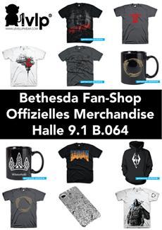 Bethesda-Merchandising auf der gamescom