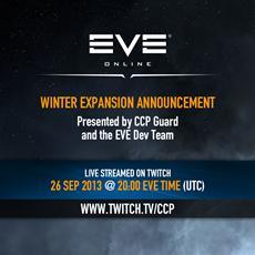 CCP streamt Enthüllung der EVE-Online-Winter-Erweiterung live via twitch.tv