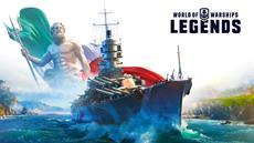 """Das """"Veni, Vidi, Vici""""-Update for World of Warships: Legends bringt italienische Kreuzer mit passendem Feldzug"""