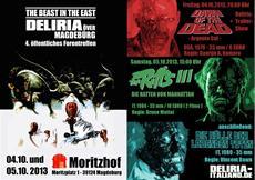 Deliria Italiano - VIERTES OFFIZIELLES FORENTREFFEN: DELIRIA ÖVER MAGDEBÜRG - The Beast in the East - Zombies, Ratten, Viren ...